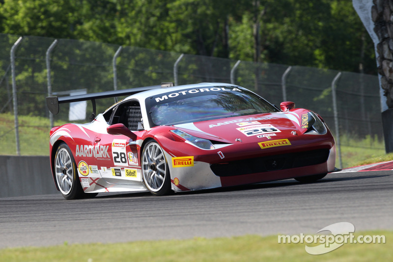 #28 Ferrari of Beverly Hills Ferrari 458: Jon Becker