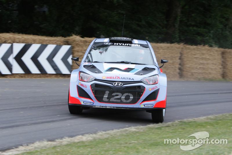 Hyundai i20 WRC - Daniel Sordo