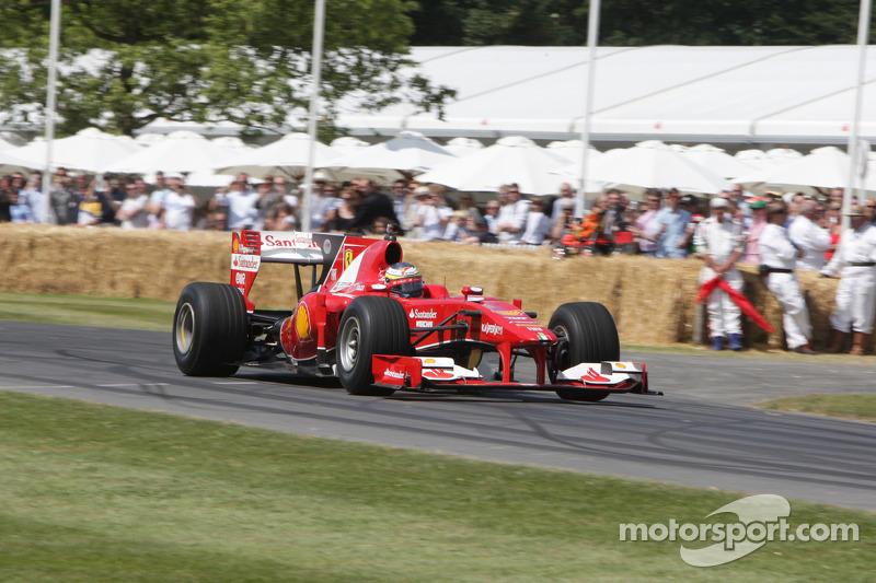 Ferrari F60 - Pedro de la Rosa