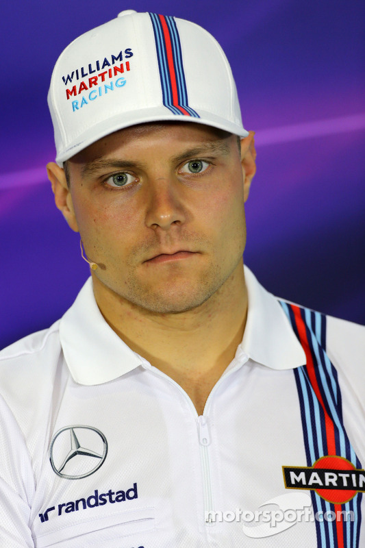 FIA-Pressekonferenz: Valtteri Bottas, Williams F1 Team