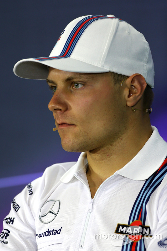 Valtteri Bottas, Williams F1 Team durante la conferenza stampa
