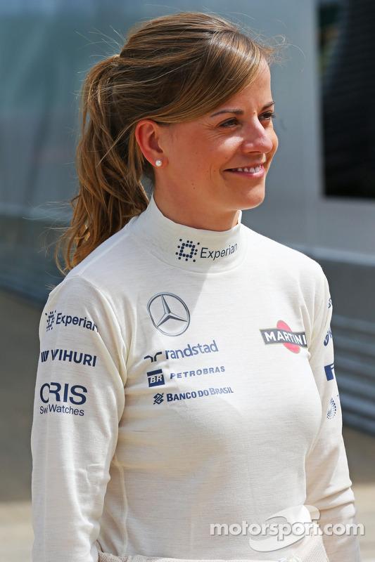 Сьюзі Вольфф, пілот програми розвитку Williams