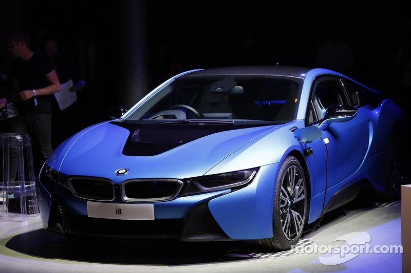 Electric BMW vehicle