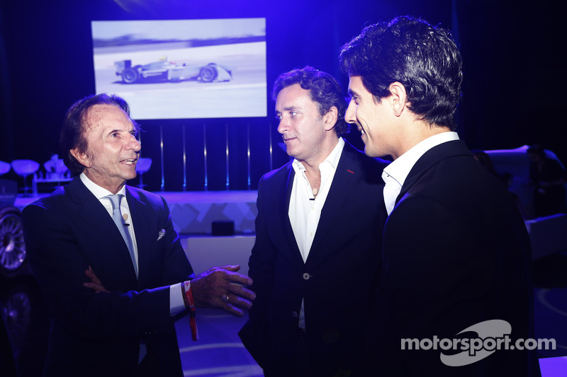 Emerson Fittipaldi, Alejandro Agag, CEO, Formula E, Lucas di Grassi