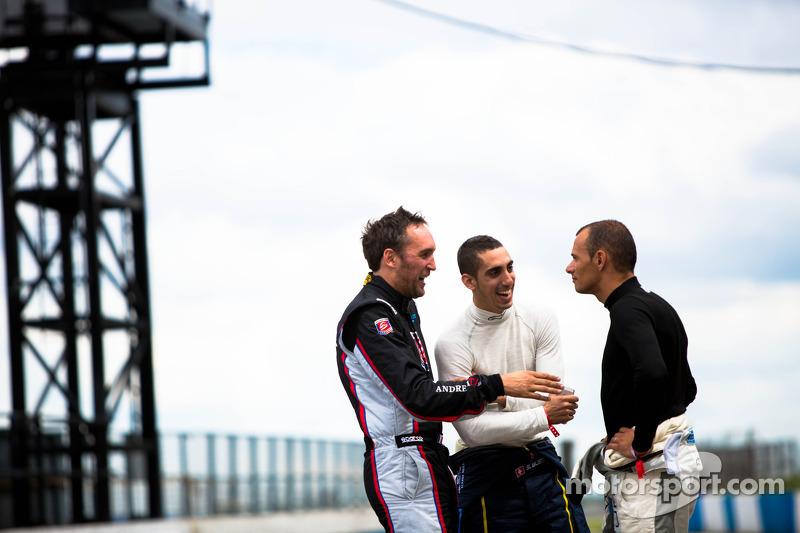 Franck Montagny, Sebastien Buemi e Stéphane Sarrazin