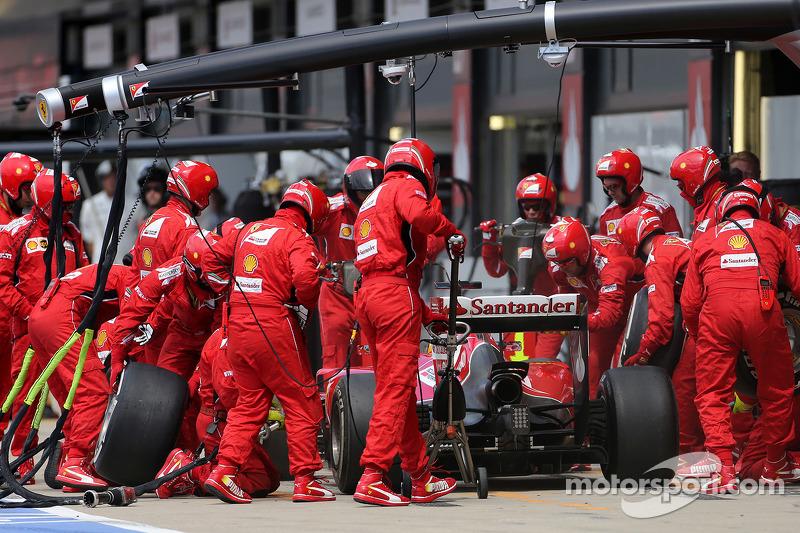 Boxenstopp: Fernando Alonso, Scuderia Ferrari