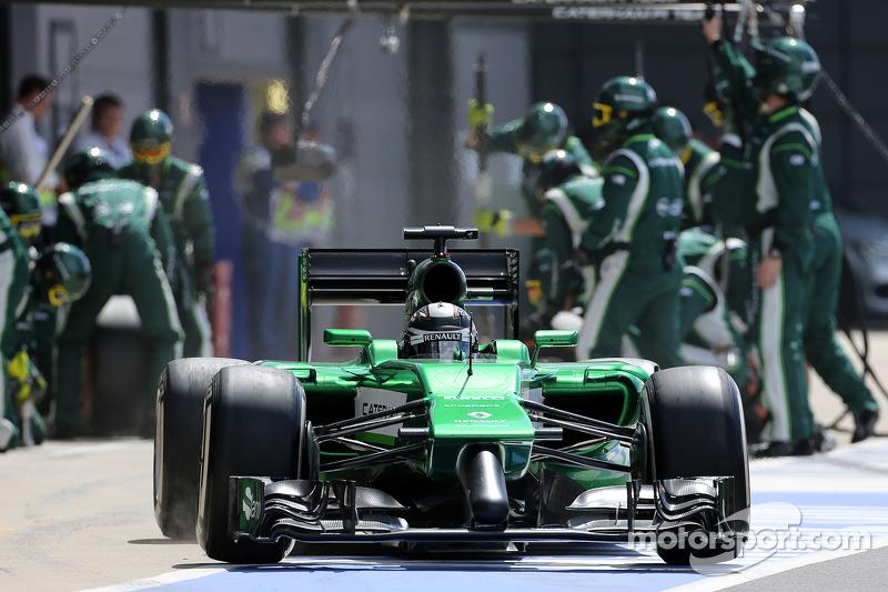 Boxenstopp: Kamui Kobayashi, Caterham F1 Team