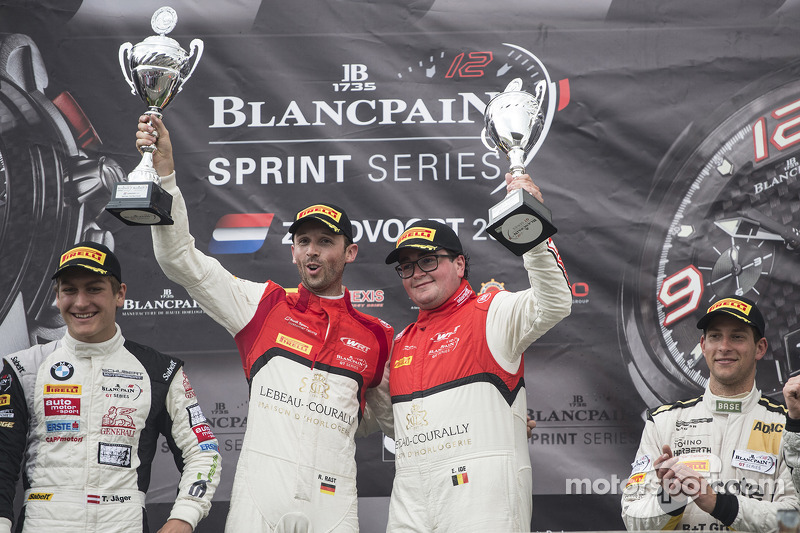 Podium: race winners Enzo Ide, Rene Rast