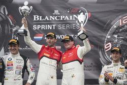 Podium: race winners Enzo Ide, Rene Rast