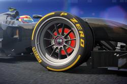 倍耐力18-英尺概念轮胎