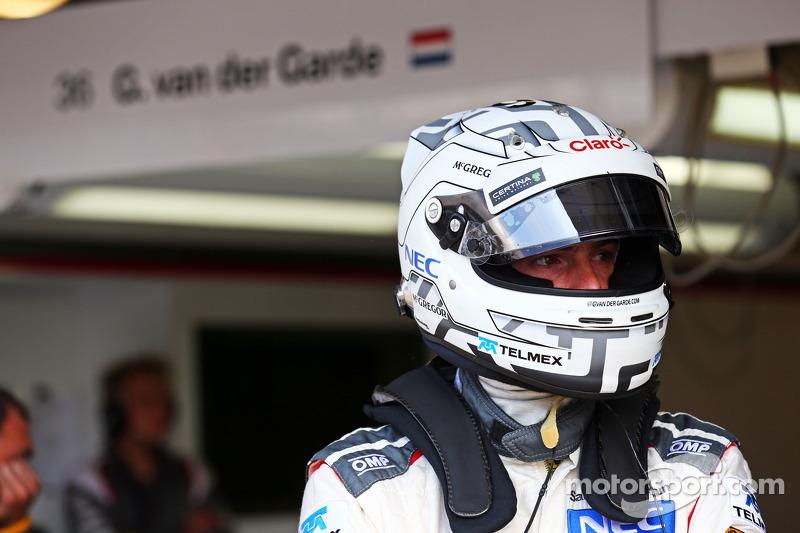 Giedo van der Garde, Sauber Terzo pilota