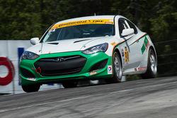 #94 Irish Mike's Racing Hyundai Genesis Coupe: David Thilenius, Ramin Abdolvahabi