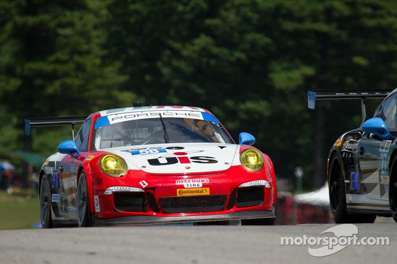 #58 Snow Racing 保时捷 911 GT America: 麦迪逊·斯诺, 扬·埃朗
