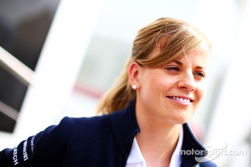 Susie Wolff, pilota collaudatrice Williams