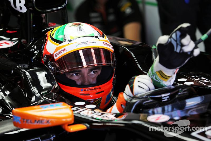 Sergio Pérez, Sahara Force India F1 VJM07