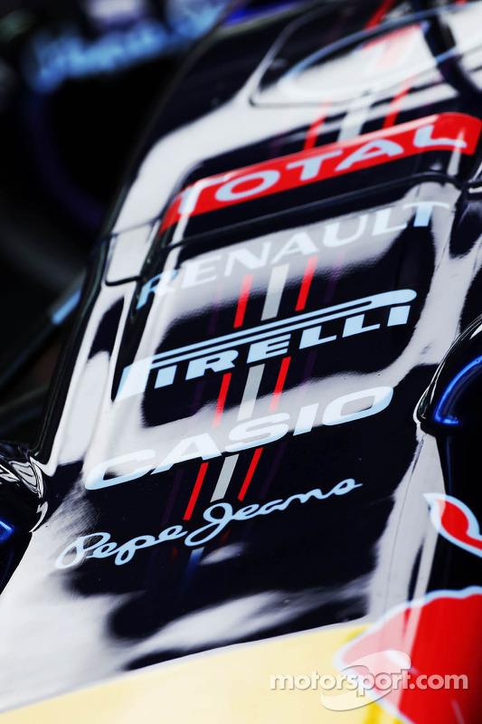 Red Bull Racing RB10 bico