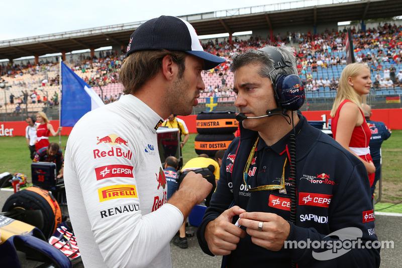 Jean-Eric Vergne, Scuderia Toro Rosso in griglia di partenza