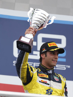 Podium: second place Felipe Nasr