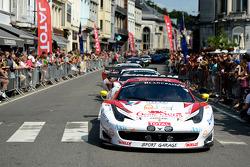 #42 Sport Garage 法拉利 458 Italia: 吉尔斯·瓦纳莱, Lorenzo Bontempelli, Beniamino Caccia, Maxime Van Hove
