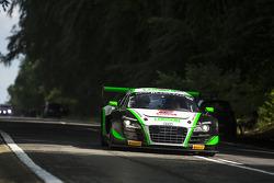 #22 Parker Racing  Audi R8 LMS Ultra Takımı: Ian Loggie, Leonid Machitski, Carl Rosenblad, Julian Westwood