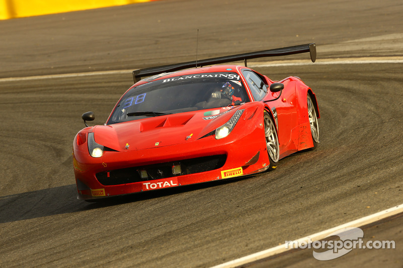 #54 AF Corse 法拉利 458 Italia: 邓肯·卡梅伦, 马特·格里芬 , 阿历克斯·莫蒂默