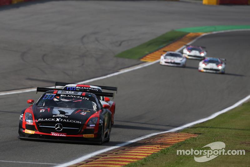 #18 Black Falcon Mercedes SLS AMG GT3: Richard Muscat, Vladimir Lunkin, Saud Turki Al Faisal, Christ