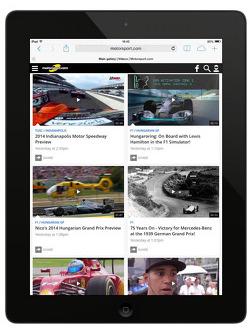 Preview della quinta generazione del sito internet Motorsport.com