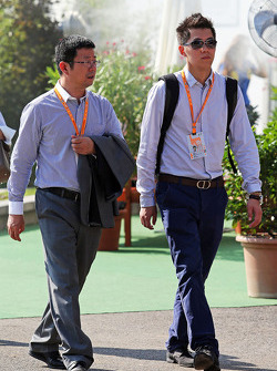 Formula 1 staff