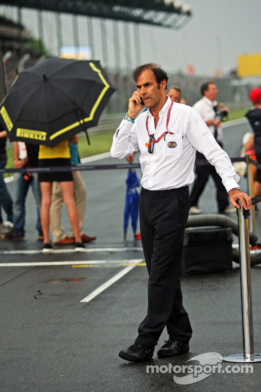 Emanuele Pirro, FIA Delegesi.