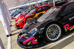 McLaren F1 line up