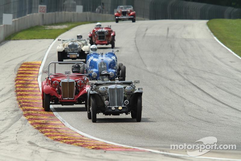 Tight racing nel gruppo Pre-War