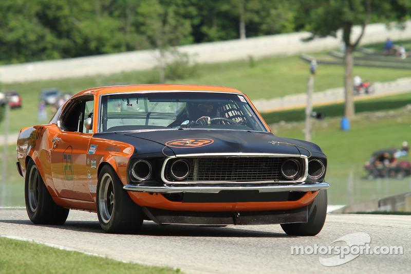 #23 1969 福特 野马: 汤姆·康特雷尔