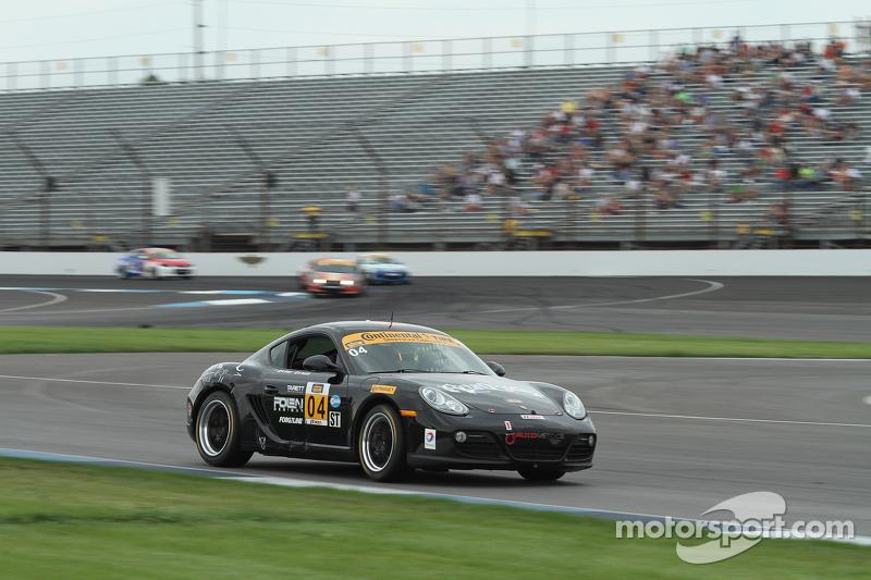 #04 Autometrics Motorsports Porsche Cayman: Remo Ruscitti, Adam Isman, Cory Friedman