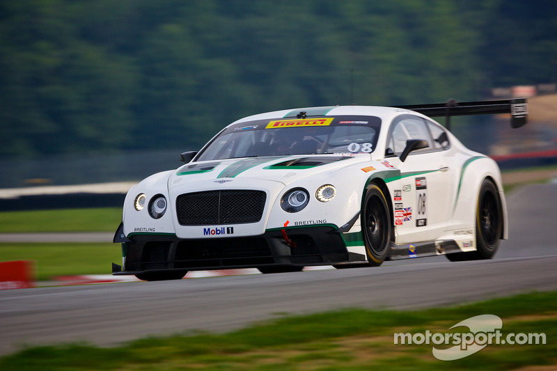#08 Dyson Racing Team Bentley Bentley V8 T: Butch Leitzinger