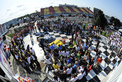 Race winner Marcos Ambrose