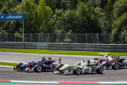 Hector Hurst, Team West-TecF3 Dallara F312 Mercedes, Richard Goddard, ThreeBond ve T-Sport Dallara F312 NBE