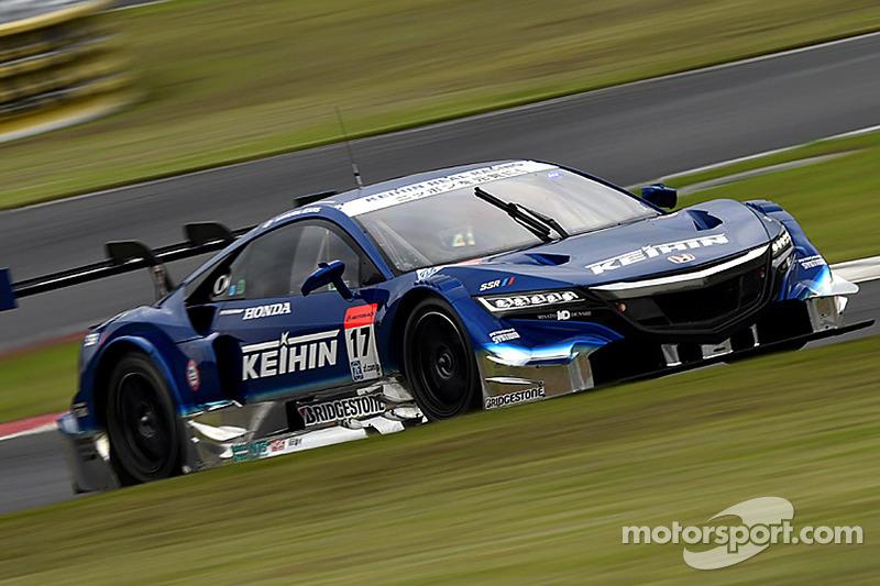 #17 Keihin Real Racing 本田 HSV-010 GT: Koudai Tsukakoshi, Toshihiro Kaneishi