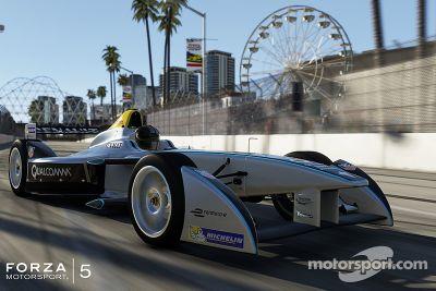 Formule E draaft op in Forza Motorsport