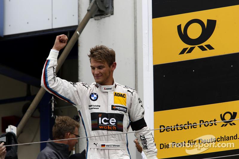 Vincitore Marco Wittmann, BMW Team RMG BMW M4 DTM