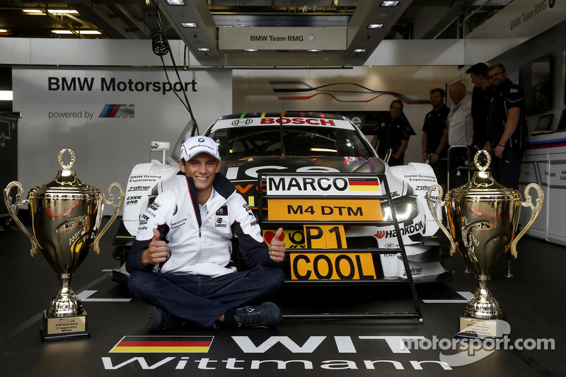 Kazanan Marco Wittmann, BMW RMG Takımı BMW M4 DTM