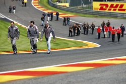 Streckenbegehung: Adrian Sutil, Sauber