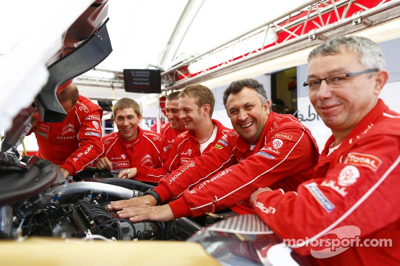 Citroën takım üyeleri