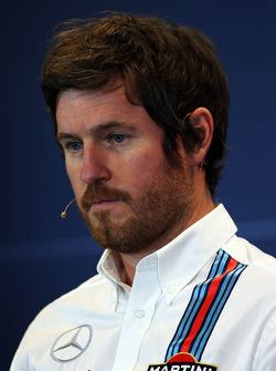 FIA-Pressekonferenz: Rob Smedley, Technikchef Williams