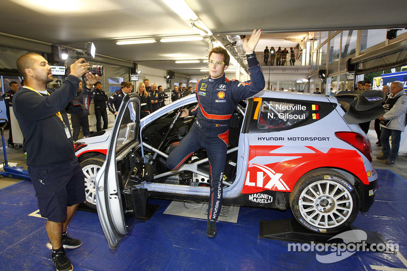Vincitore Thierry Neuville