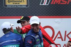 2e place - #17 Team Falken Tire, Porsche 911 GT3 RSR: Wolf Henzler