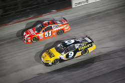 Marcos Ambrose and Justin Allgaier