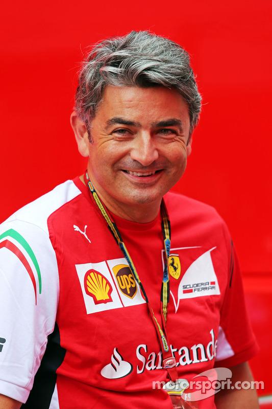Marco Mattiacci, chefe de equipe de F1 da Ferrari