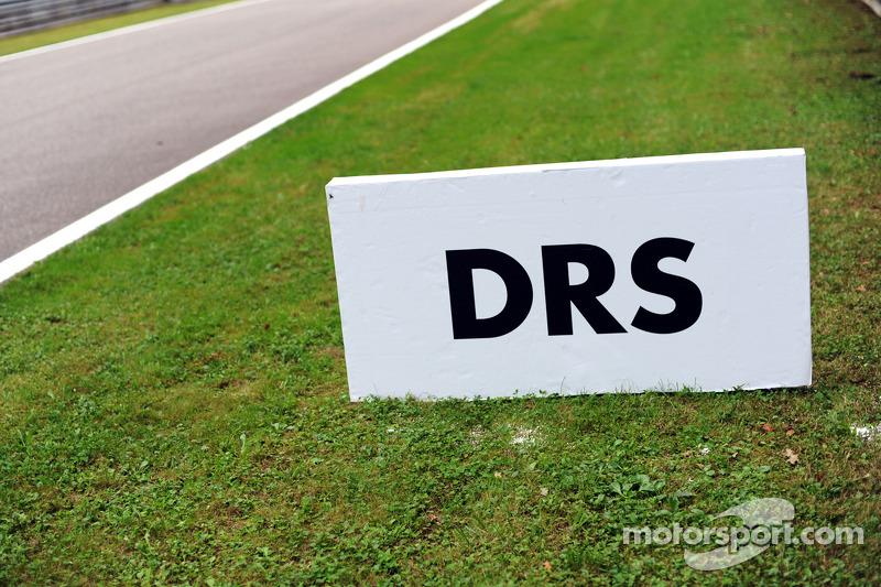 DRS alanı tabelası
