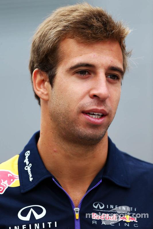 Antonio Felix da Costa, piloto de teste da Red Bull Racing