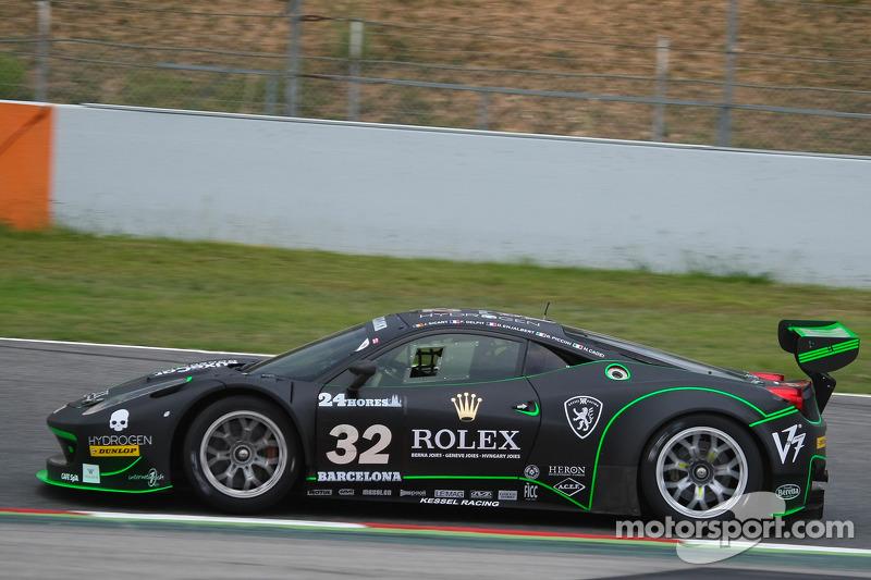 #32 Kessel Racing 法拉利 458 Italia GT3: 贾科莫·皮奇尼